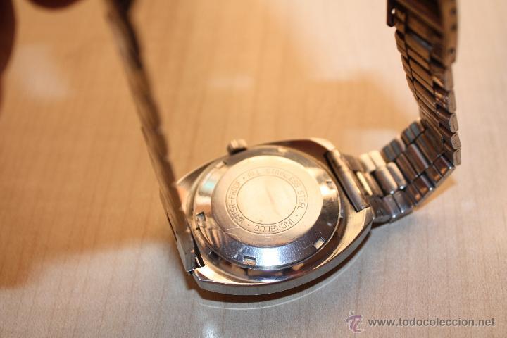 Relojes automáticos: RELOJ MARCA **VANROY AUTOMATIC 25 JEWELS INCABLOC**FUNCIONA PERFECTO - Foto 4 - 43438197