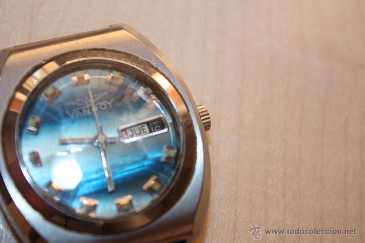 Relojes automáticos: RELOJ MARCA **VANROY AUTOMATIC 25 JEWELS INCABLOC**FUNCIONA PERFECTO - Foto 5 - 43438197