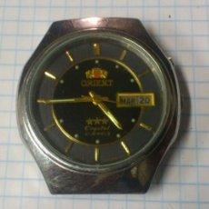 Relojes automáticos: RELOJ AUTOMATICO ORIENT CRYSTAL . 21 JEWELS. FUNCIONANDO. Lote 144436164