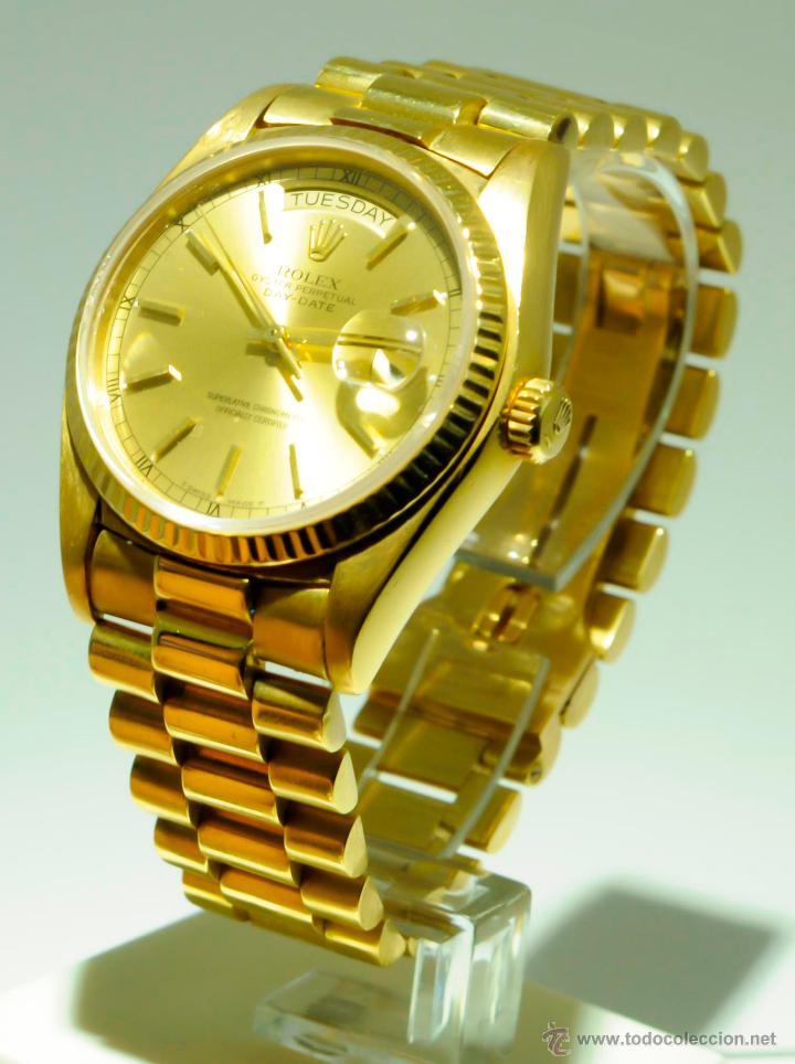 0387794bbad Rolex president-oro 18kt.automatico - Vendido en Venta Directa ...
