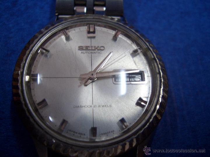 Relojes automáticos: SEIKO AUTOMATIC DIASHOCK 21 JEWELS # W005 - Foto 2 - 44363724