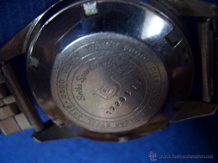 Relojes automáticos: SEIKO AUTOMATIC DIASHOCK 21 JEWELS # W005 - Foto 4 - 44363724
