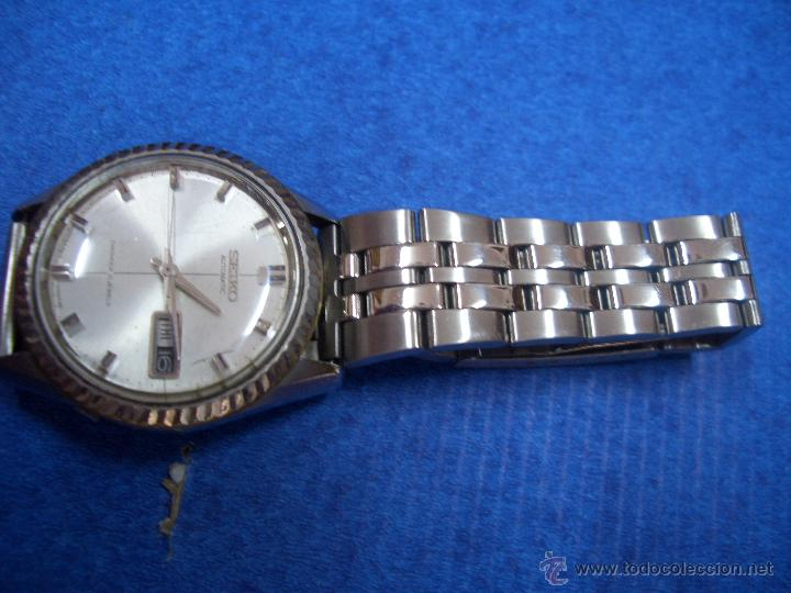 SEIKO AUTOMATIC DIASHOCK 21 JEWELS # W005 (Relojes - Relojes Automáticos)