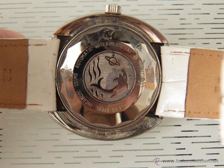 Relojes automáticos: reloj enicar automatico con defecto - Foto 2 - 44670067