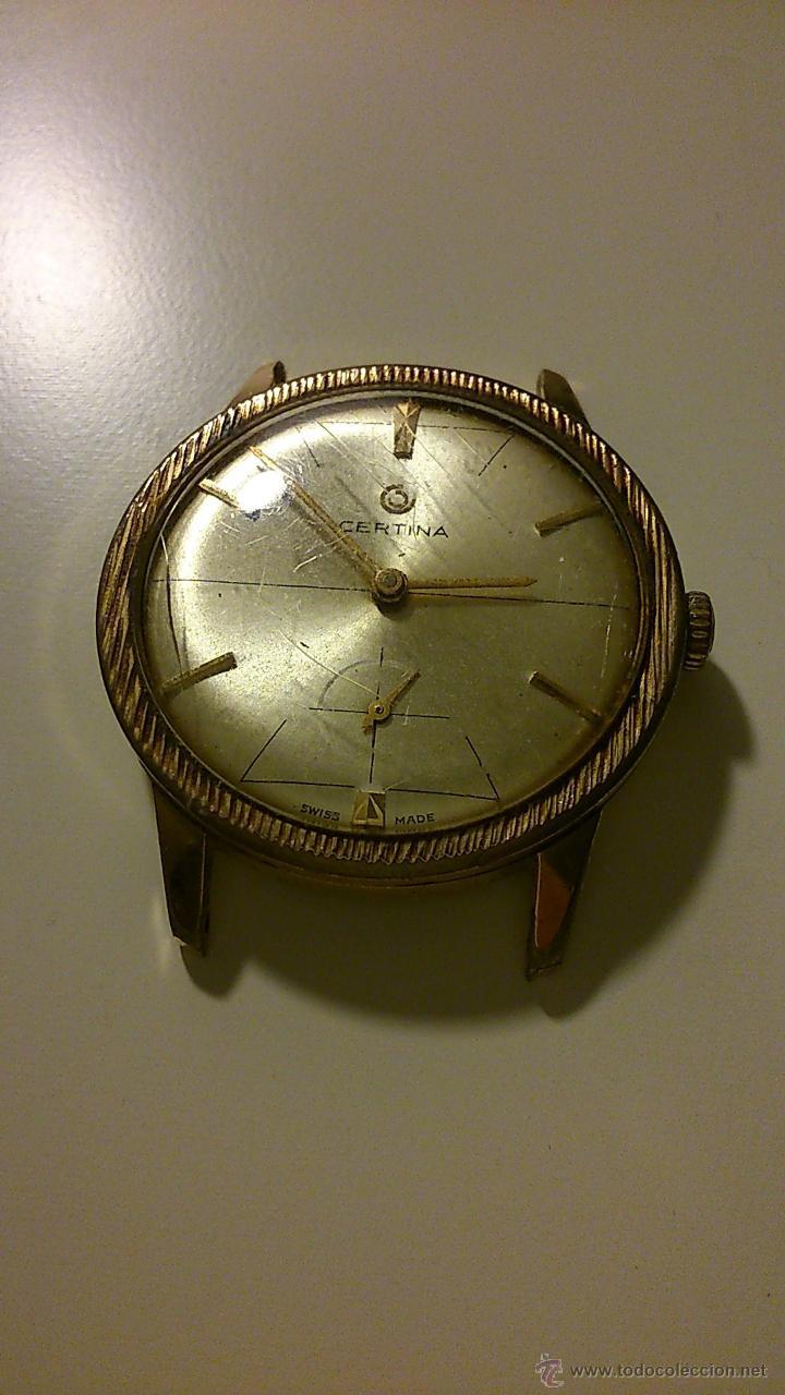 Relojes automáticos: Reloj de hombre antiguo. Marca: Certina. - Foto 2 - 44957216