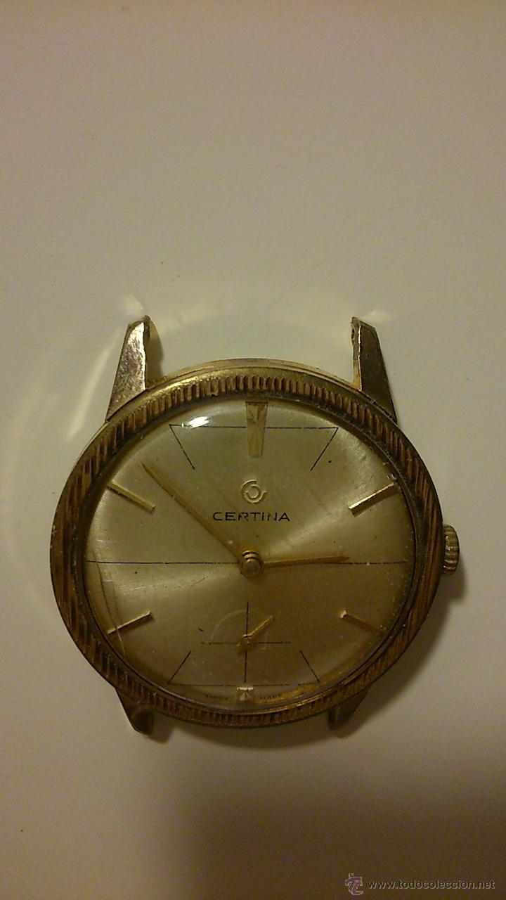 Relojes automáticos: Reloj de hombre antiguo. Marca: Certina. - Foto 3 - 44957216