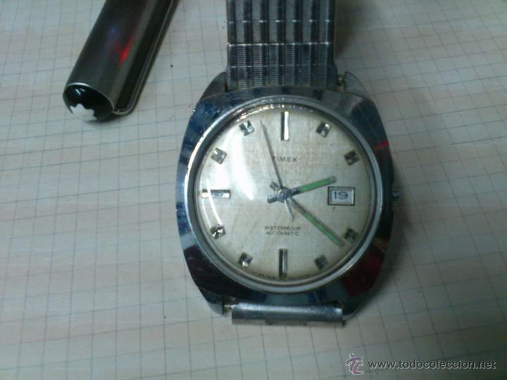 AFJ. RELOJ AUTOMÀTICO TIMEX GT. BRITAIN. ( RELOJ INGLÈS ) NO FUNCIONA (Relojes - Relojes Automáticos)