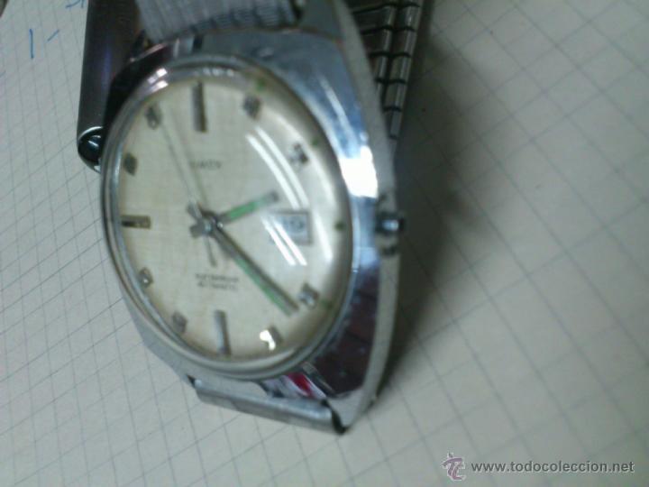 Relojes automáticos: AFJ. RELOJ AUTOMÀTICO TIMEX GT. BRITAIN. ( RELOJ INGLÈS ) NO FUNCIONA - Foto 2 - 45904011