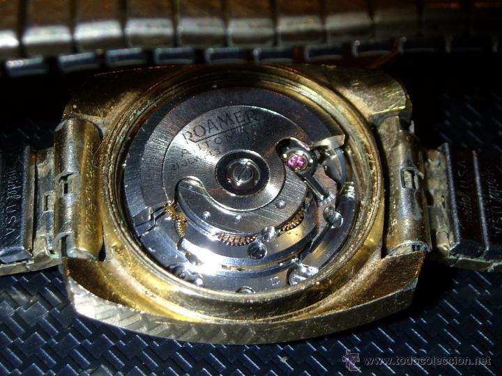 Relojes automáticos: reloj Automatico pulsera de señora marca Roamer searock automatic swiss made Funcionando. - Foto 4 - 31304007