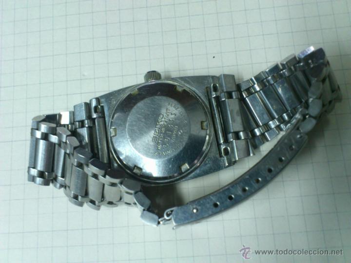 Relojes automáticos: RELOJ SEIKO SEÑORA AÑOS 50-60 AUTOMATICO FUNCIONA. CALENDARIO HI BEAT JEWELS JAPAN - Foto 3 - 46625363