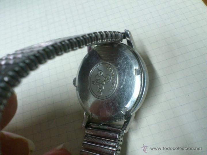 Relojes automáticos: ANTIGUO RELOJ AUTOMATICO DUWARD CONTINUAL TRIUMPH 17 JEWELS CON TAPA DE OMEGA SEAMASTER FUNCIONA - Foto 3 - 46625095
