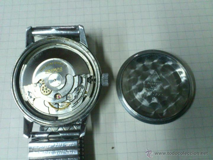 Relojes automáticos: ANTIGUO RELOJ AUTOMATICO DUWARD CONTINUAL TRIUMPH 17 JEWELS CON TAPA DE OMEGA SEAMASTER FUNCIONA - Foto 6 - 46625095