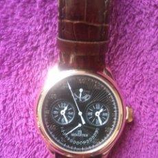 Relojes automáticos: RELOJ AUTOMÁTICO MINISTER PRÁCTICAMENTE NUEVO. PLACADO EN ORO. Lote 47067114