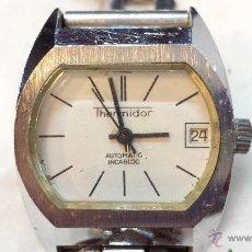 Relojes automáticos: RELOJ THERMIDOR AUTOMATIC, INCABLOC, ANTIMAGNETIC. FALTA REVISION, NO FUNCIONA.. Lote 47160659