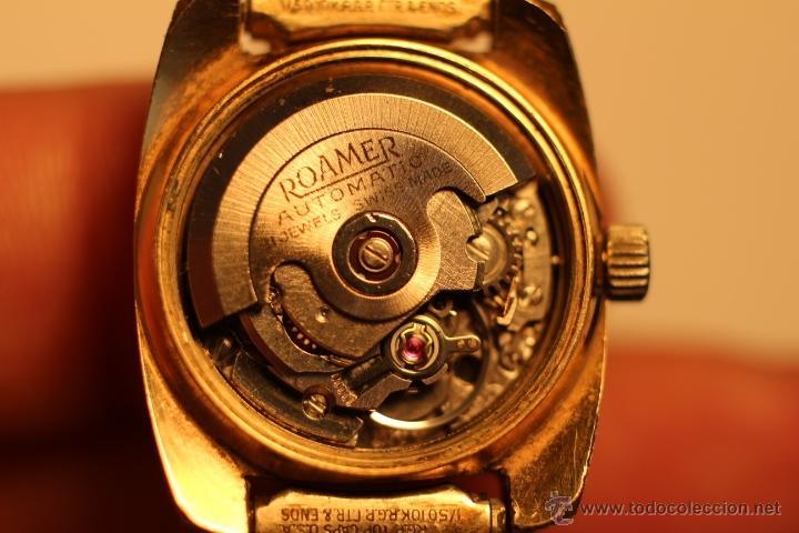 Relojes automáticos: reloj Automatico pulsera de señora marca Roamer searock automatic swiss made Funcionando. - Foto 8 - 31304007