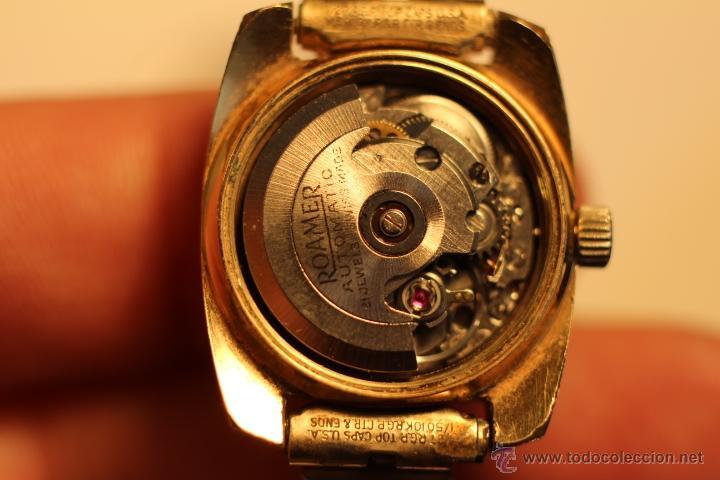 Relojes automáticos: reloj Automatico pulsera de señora marca Roamer searock automatic swiss made Funcionando. - Foto 9 - 31304007