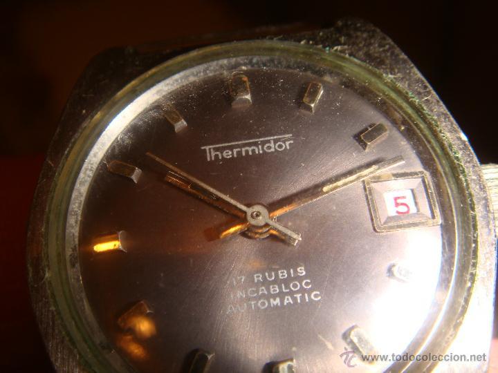 Relojes automáticos: RELOJ SRA. THERMIDOR AUTOMATIC 17 RUBIS INCABLOC - Foto 2 - 47274458