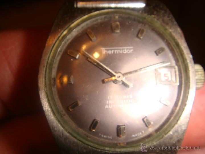 Relojes automáticos: RELOJ SRA. THERMIDOR AUTOMATIC 17 RUBIS INCABLOC - Foto 3 - 47274458