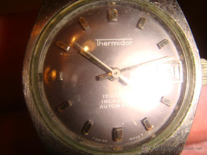 Relojes automáticos: RELOJ SRA. THERMIDOR AUTOMATIC 17 RUBIS INCABLOC - Foto 4 - 47274458