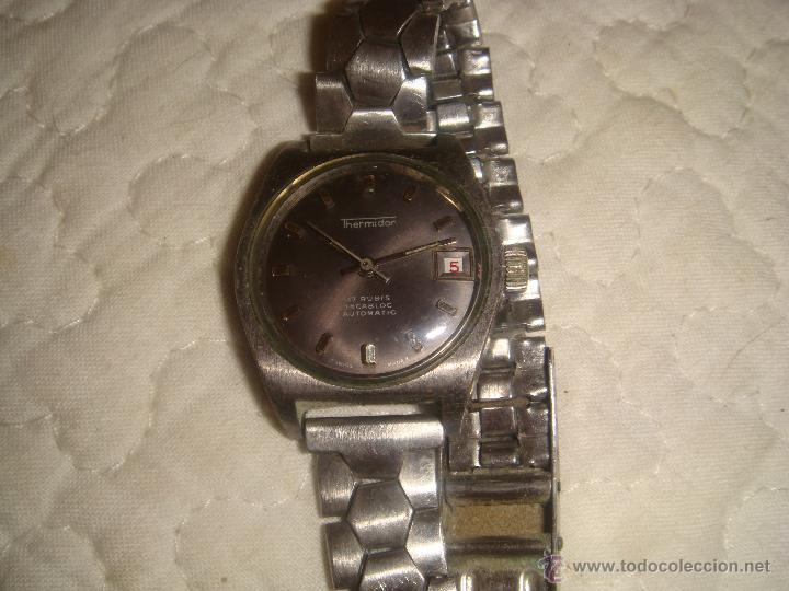 Relojes automáticos: RELOJ SRA. THERMIDOR AUTOMATIC 17 RUBIS INCABLOC - Foto 5 - 47274458