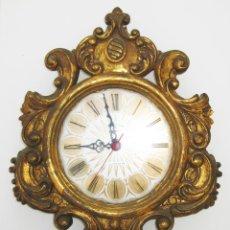 Relojes automáticos: PRECIOSO RELOJ AÑOS 60 LUBER DORADO IDEAL COMPOSICIONES ESPEJOS SOL O DECORACION CLASICA VINTAGE. Lote 47393856
