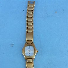 Relojes automáticos: RELOJ DE PULSERA DORADO. Lote 47555655
