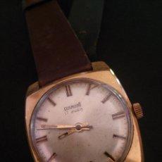 Relojes automáticos: RELOJ DE PULSERA DIAMANT 17 RUBÍS. . Lote 47555660