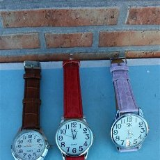 Relojes automáticos: 3 RELOJES DE SEÑORA. Lote 47555727
