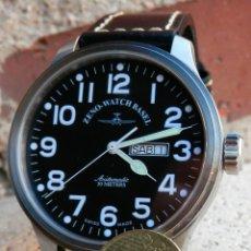 Relojes automáticos: ZENO DE GRAN TAMAÑO AUTOMÁTICO MECANICA SUIZA, SEMINUEVO.. Lote 48135091