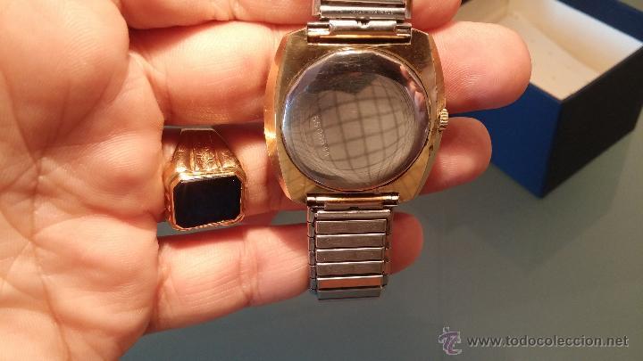 Relojes automáticos: BELLO CONJUNTO DE RELOJ AUTOMÁTICO ERNEST BOREL Y SELLO DE ORO A JUEGO - Foto 8 - 48467413
