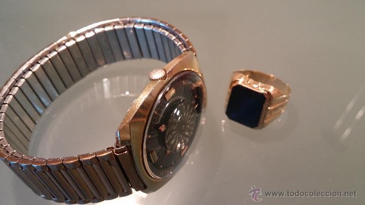 Relojes automáticos: BELLO CONJUNTO DE RELOJ AUTOMÁTICO ERNEST BOREL Y SELLO DE ORO A JUEGO - Foto 16 - 48467413