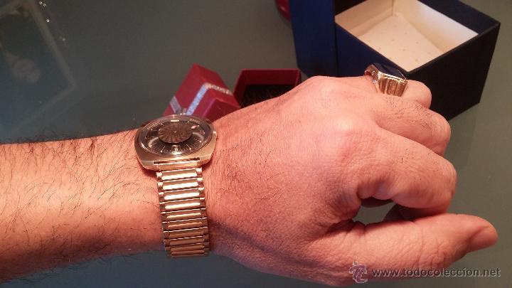 Relojes automáticos: BELLO CONJUNTO DE RELOJ AUTOMÁTICO ERNEST BOREL Y SELLO DE ORO A JUEGO - Foto 20 - 48467413