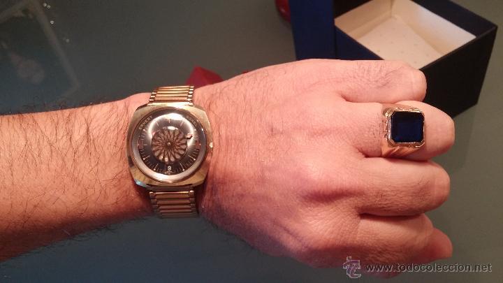 Relojes automáticos: BELLO CONJUNTO DE RELOJ AUTOMÁTICO ERNEST BOREL Y SELLO DE ORO A JUEGO - Foto 21 - 48467413