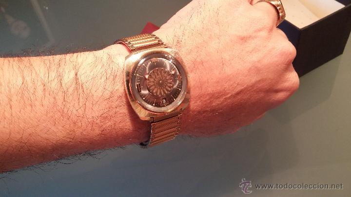 Relojes automáticos: BELLO CONJUNTO DE RELOJ AUTOMÁTICO ERNEST BOREL Y SELLO DE ORO A JUEGO - Foto 26 - 48467413