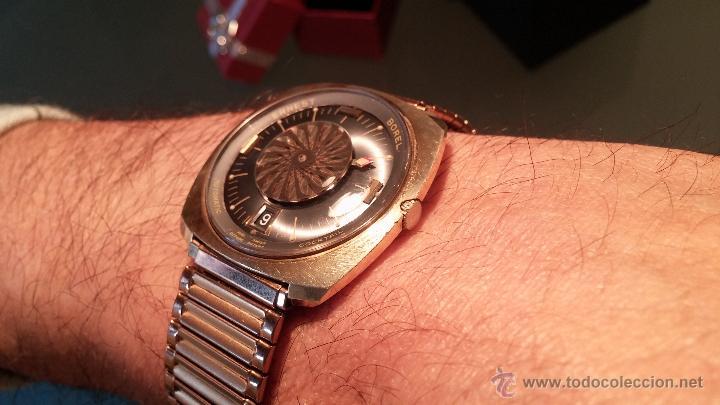 Relojes automáticos: BELLO CONJUNTO DE RELOJ AUTOMÁTICO ERNEST BOREL Y SELLO DE ORO A JUEGO - Foto 27 - 48467413