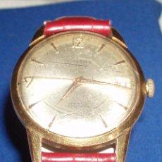 Relojes automáticos: RELOJ CHAPADO EN ORO AUTOMATICO MARCA INSITUS AÑOS 50. Lote 48687830
