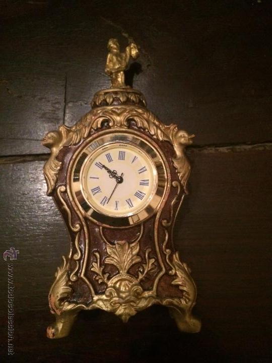 PEQUEÑO RELOJ DE PASTA REPRODUCCIÓN DE RELOJ BARROCO (Relojes - Relojes Automáticos)