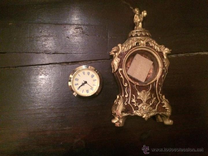 Relojes automáticos: Pequeño reloj de pasta reproducción de reloj barroco - Foto 2 - 49300683