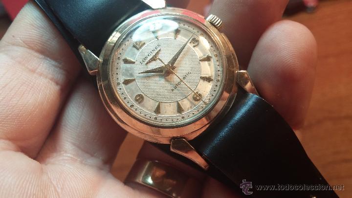 RELOJ DE LOS PRIMEROS LONGINES AUTOMÁTICO DE CABALLERO DEL AÑO 1952, CALIBRE 19AS (Relojes - Relojes Automáticos)