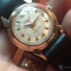Relojes automáticos: RELOJ DE LOS PRIMEROS LONGINES AUTOMÁTICO DE CABALLERO DEL AÑO 1952, CALIBRE 19AS. Lote 66126494