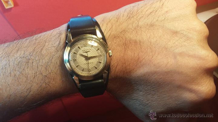 Relojes automáticos: Reloj de los primeros Longines automático de caballero del año 1952, calibre 19as - Foto 3 - 66126494