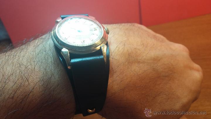 Relojes automáticos: Reloj de los primeros Longines automático de caballero del año 1952, calibre 19as - Foto 5 - 66126494