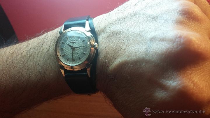Relojes automáticos: Reloj de los primeros Longines automático de caballero del año 1952, calibre 19as - Foto 11 - 66126494