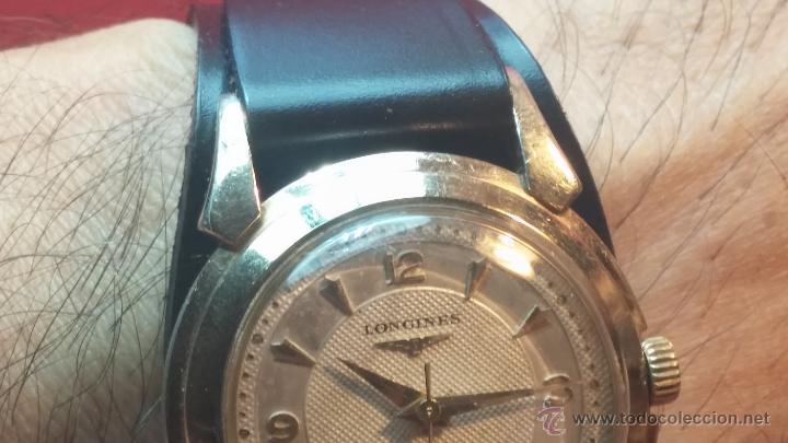 Relojes automáticos: Reloj de los primeros Longines automático de caballero del año 1952, calibre 19as - Foto 15 - 66126494