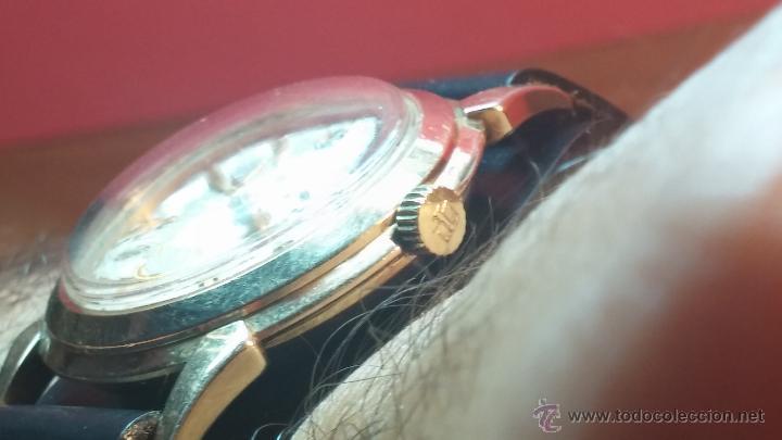 Relojes automáticos: Reloj de los primeros Longines automático de caballero del año 1952, calibre 19as - Foto 21 - 66126494