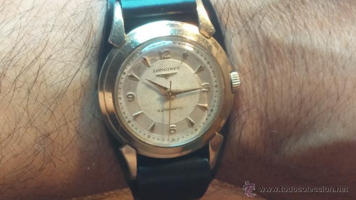 Relojes automáticos: Reloj de los primeros Longines automático de caballero del año 1952, calibre 19as - Foto 24 - 66126494