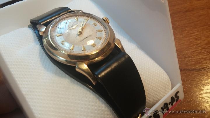 Relojes automáticos: Reloj de los primeros Longines automático de caballero del año 1952, calibre 19as - Foto 28 - 66126494