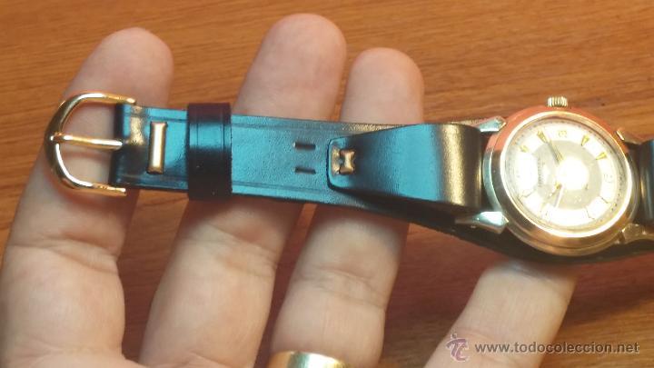 Relojes automáticos: Reloj de los primeros Longines automático de caballero del año 1952, calibre 19as - Foto 36 - 66126494