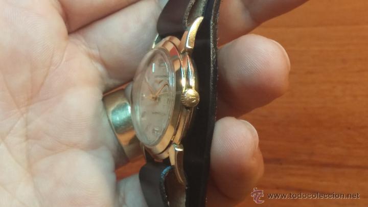 Relojes automáticos: Reloj de los primeros Longines automático de caballero del año 1952, calibre 19as - Foto 40 - 66126494