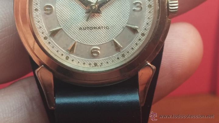 Relojes automáticos: Reloj de los primeros Longines automático de caballero del año 1952, calibre 19as - Foto 42 - 66126494